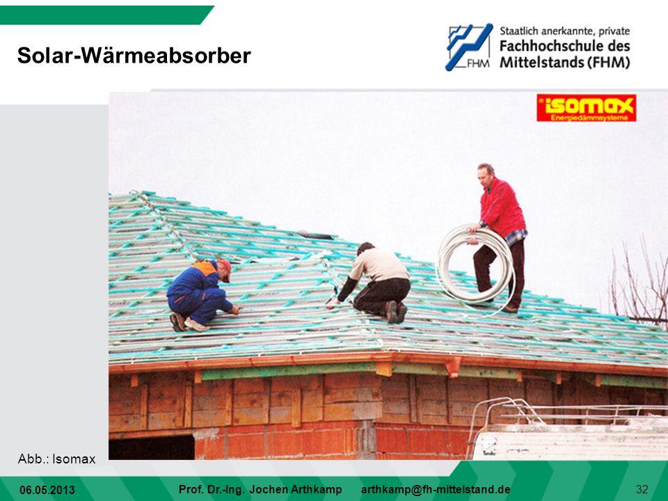 Solar-Wärmeabsorber Abb.: Isomax