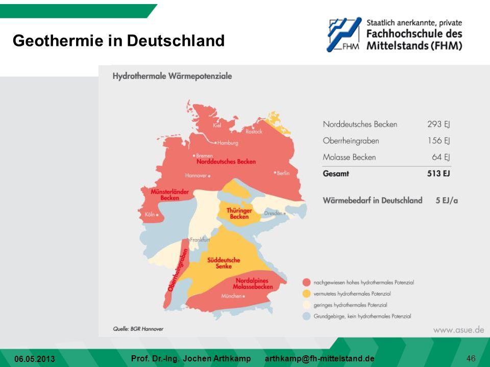 Geothermie in Deutschland