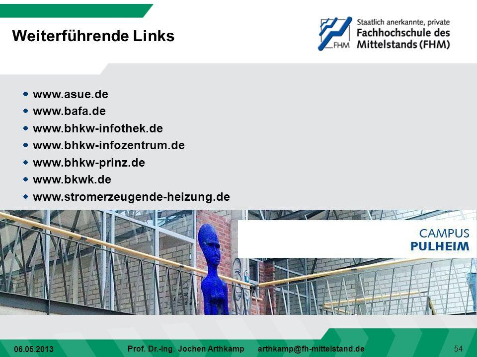 Weiterführende Links www.asue.de www.bafa.de www.bhkw-infothek.de