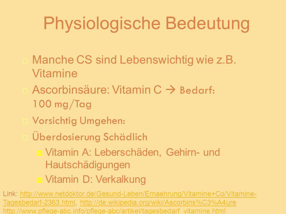 Physiologische Bedeutung