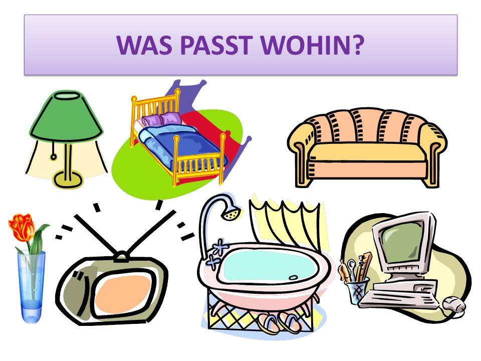 WAS PASST WOHIN