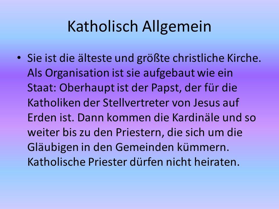 Katholisch Allgemein