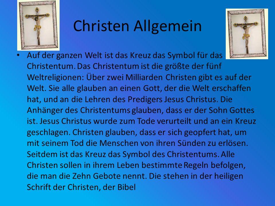 Christen Allgemein