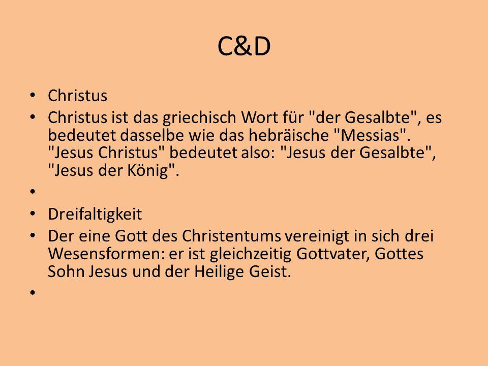 C&D Christus.