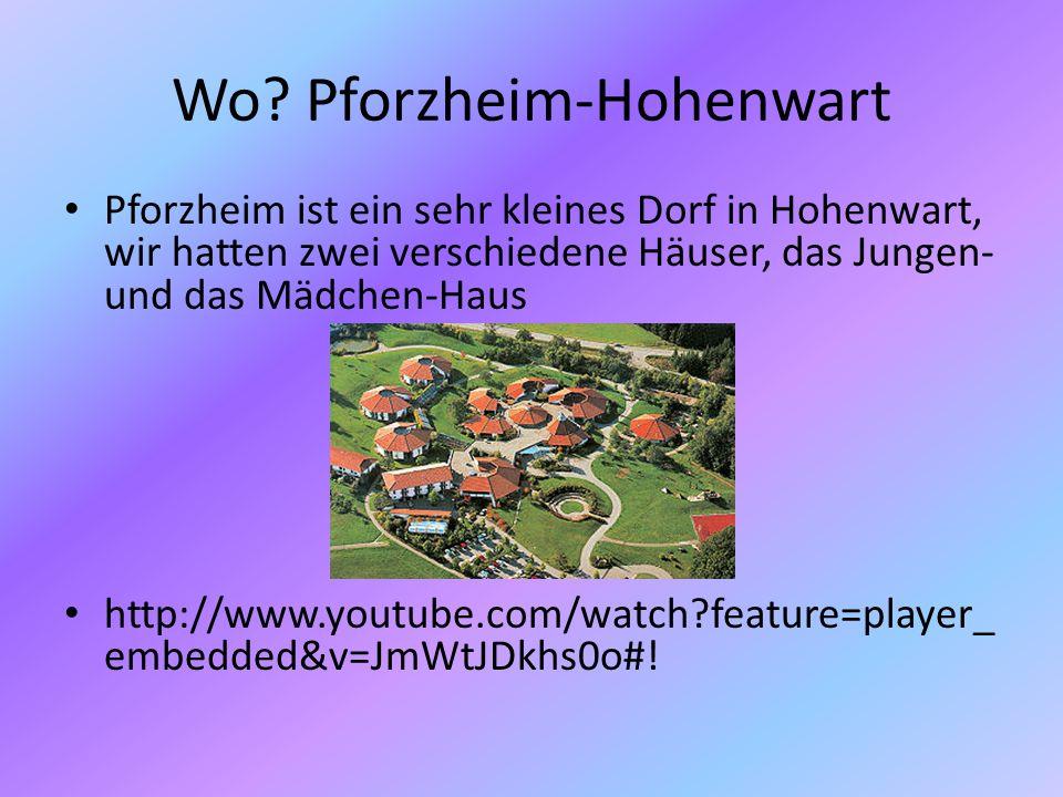 Wo Pforzheim-Hohenwart