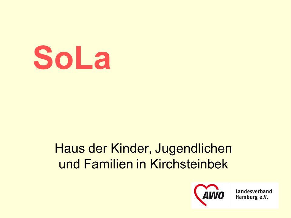 Haus der Kinder, Jugendlichen und Familien in Kirchsteinbek