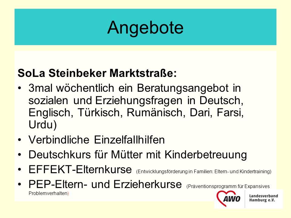 Angebote SoLa Steinbeker Marktstraße: