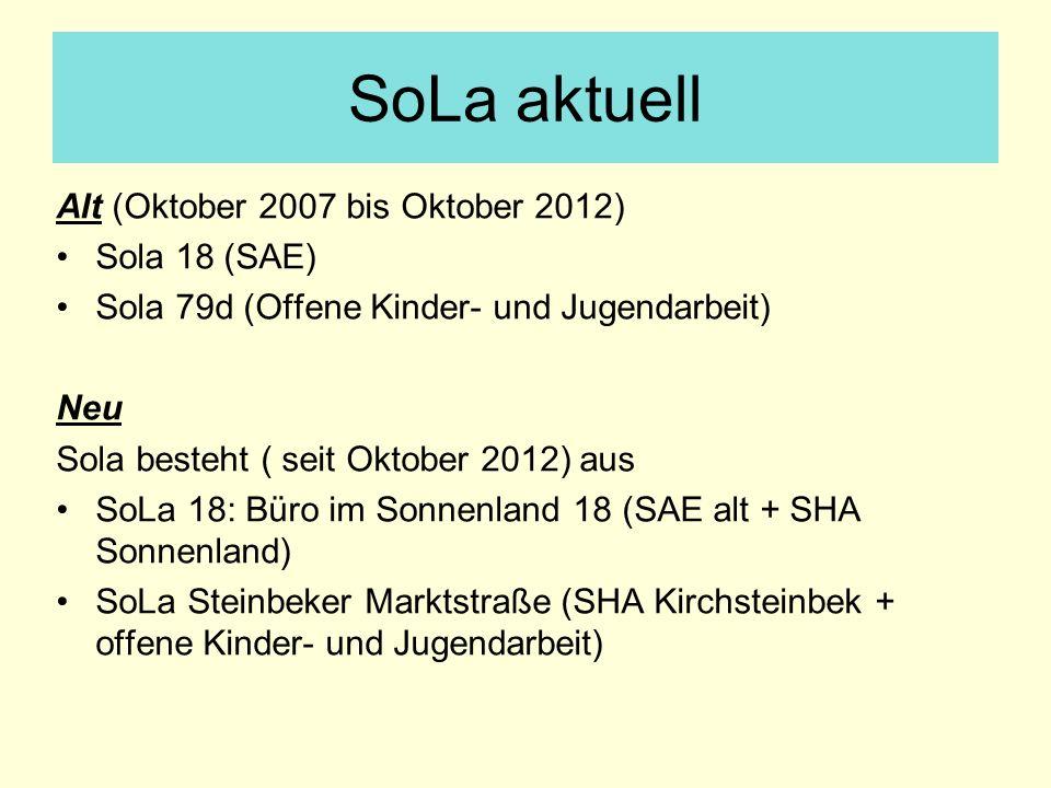SoLa aktuell Alt (Oktober 2007 bis Oktober 2012) Sola 18 (SAE)