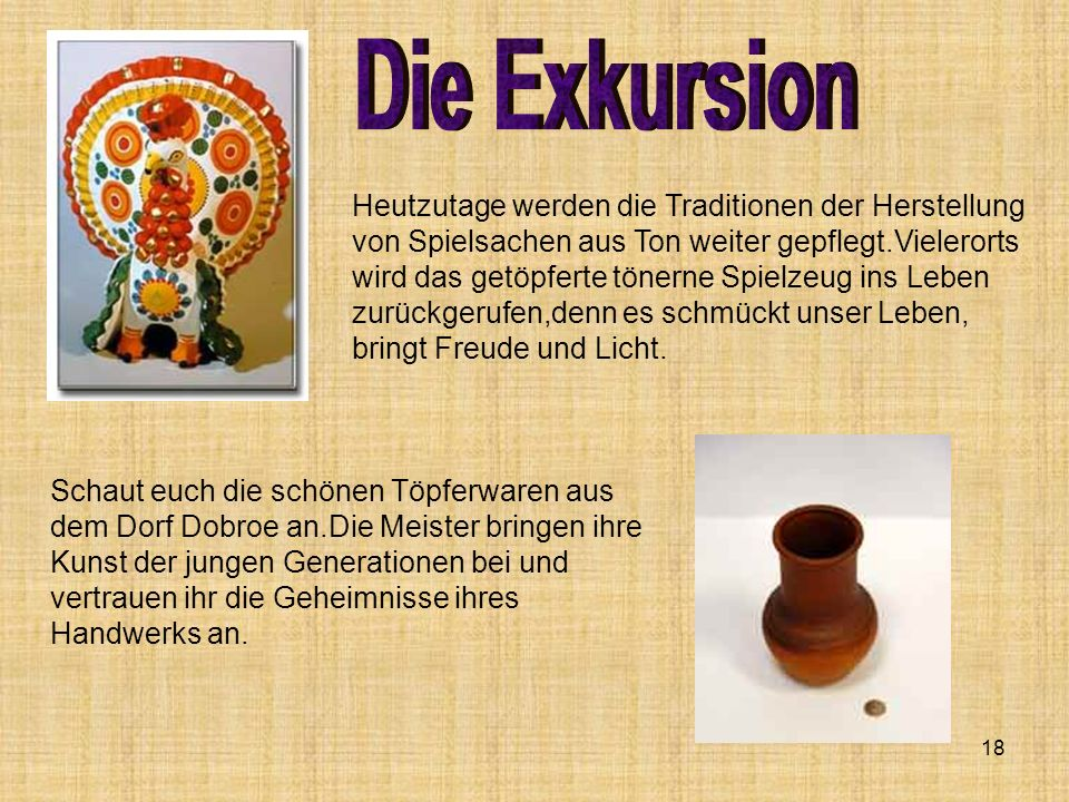 Die Exkursion