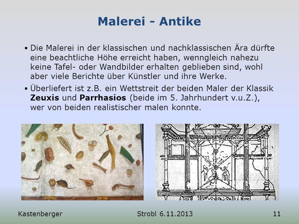 Malerei - Antike