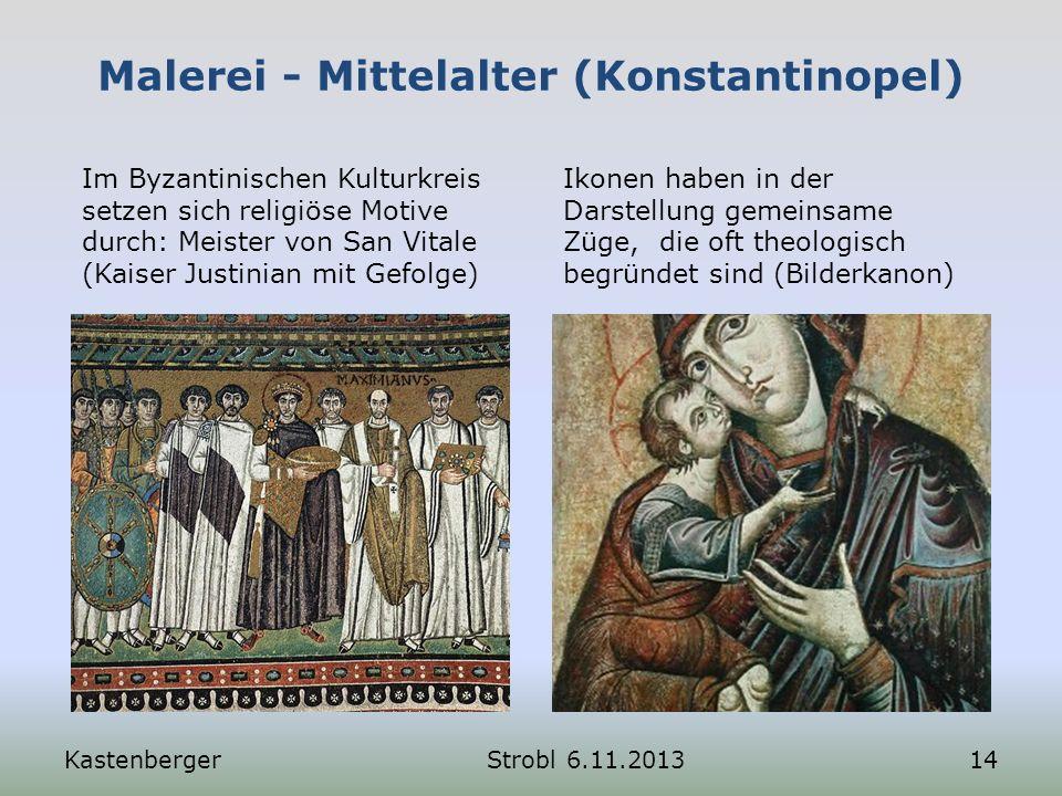 Malerei - Mittelalter (Konstantinopel)