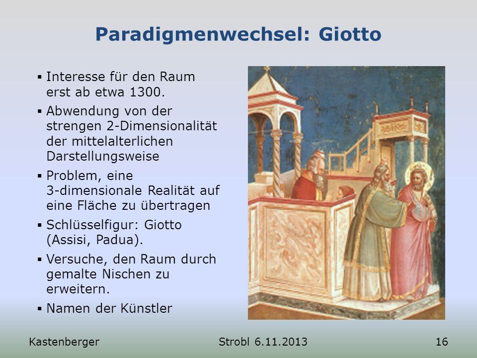 Paradigmenwechsel: Giotto