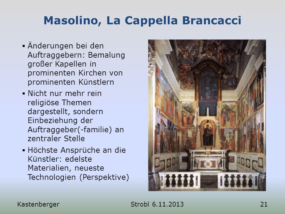 Masolino, La Cappella Brancacci