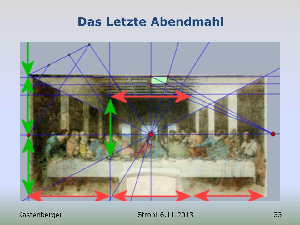 Das Letzte Abendmahl Kastenberger Strobl 6.11.2013