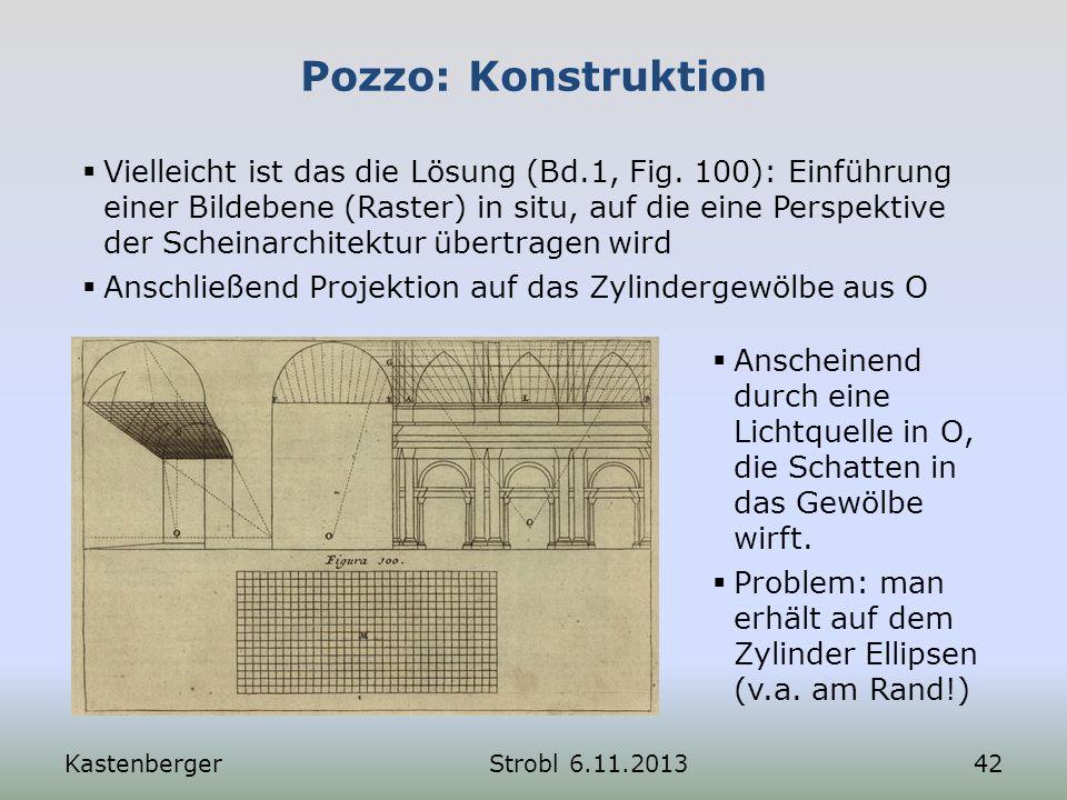 Pozzo: Konstruktion