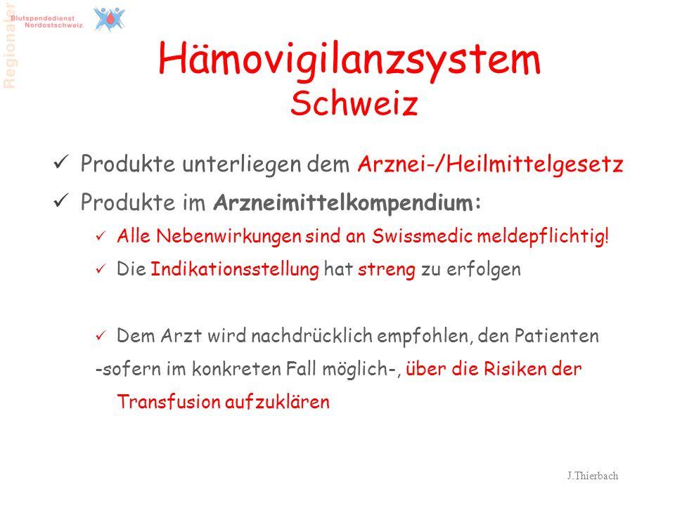Hämovigilanzsystem Schweiz