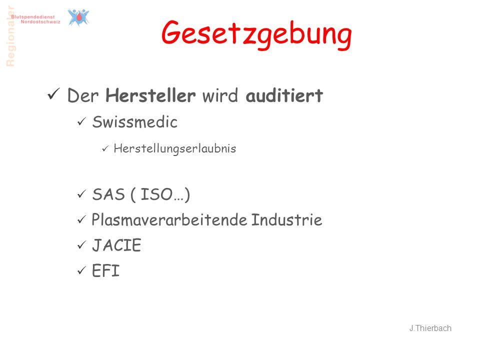 Gesetzgebung Der Hersteller wird auditiert Swissmedic SAS ( ISO…)