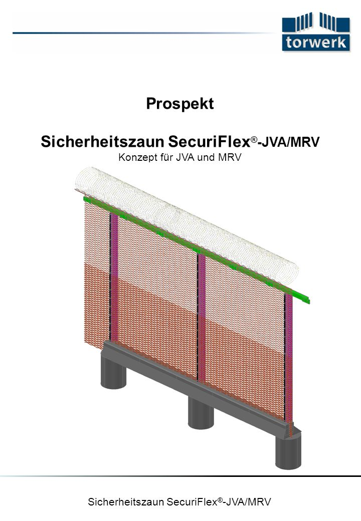 Sicherheitszaun SecuriFlex®-JVA/MRV