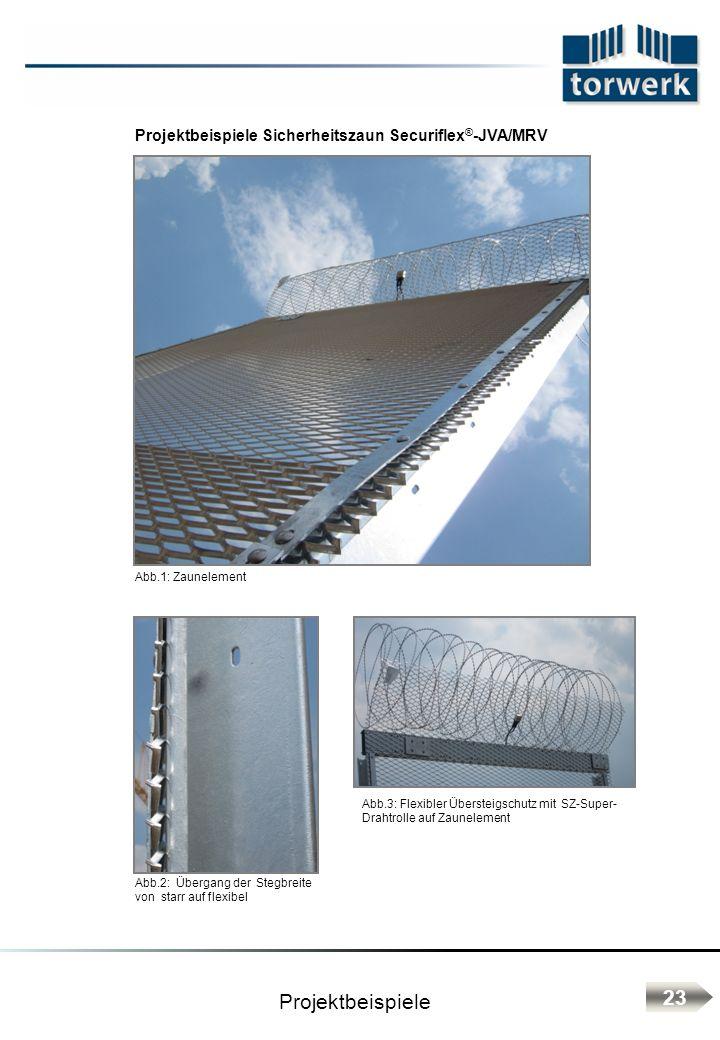 Projektbeispiele Sicherheitszaun Securiflex®-JVA/MRV