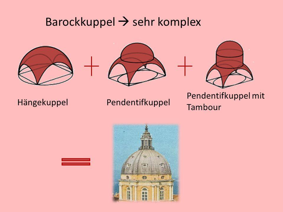 Barockkuppel  sehr komplex