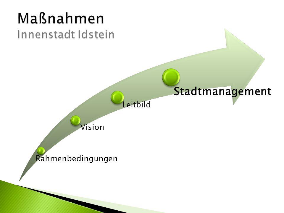Maßnahmen Innenstadt Idstein