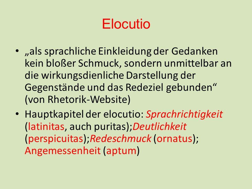 Elocutio