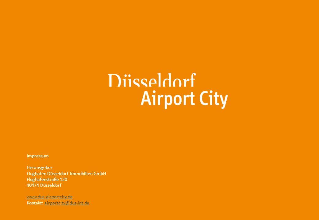 Impressum Herausgeber. Flughafen Düsseldorf Immobilien GmbH. Flughafenstraße 120. 40474 Düsseldorf.