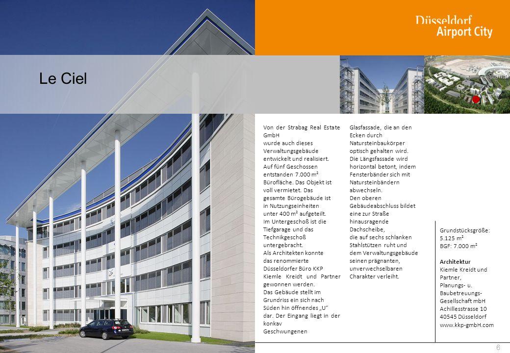 Le Ciel Von der Strabag Real Estate GmbH