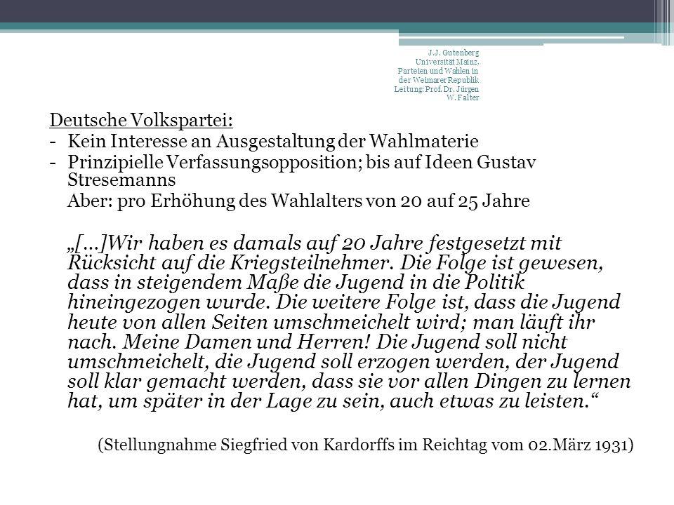Deutsche Volkspartei: