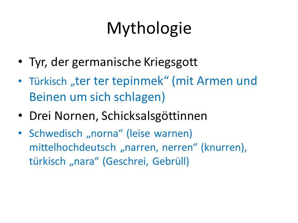 Mythologie Tyr, der germanische Kriegsgott