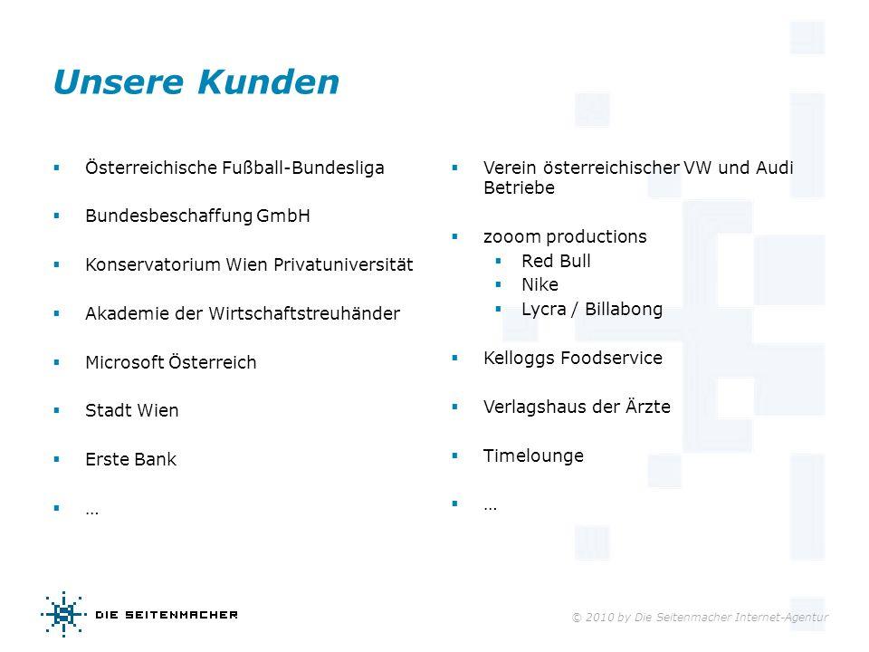 Unsere Kunden Österreichische Fußball-Bundesliga
