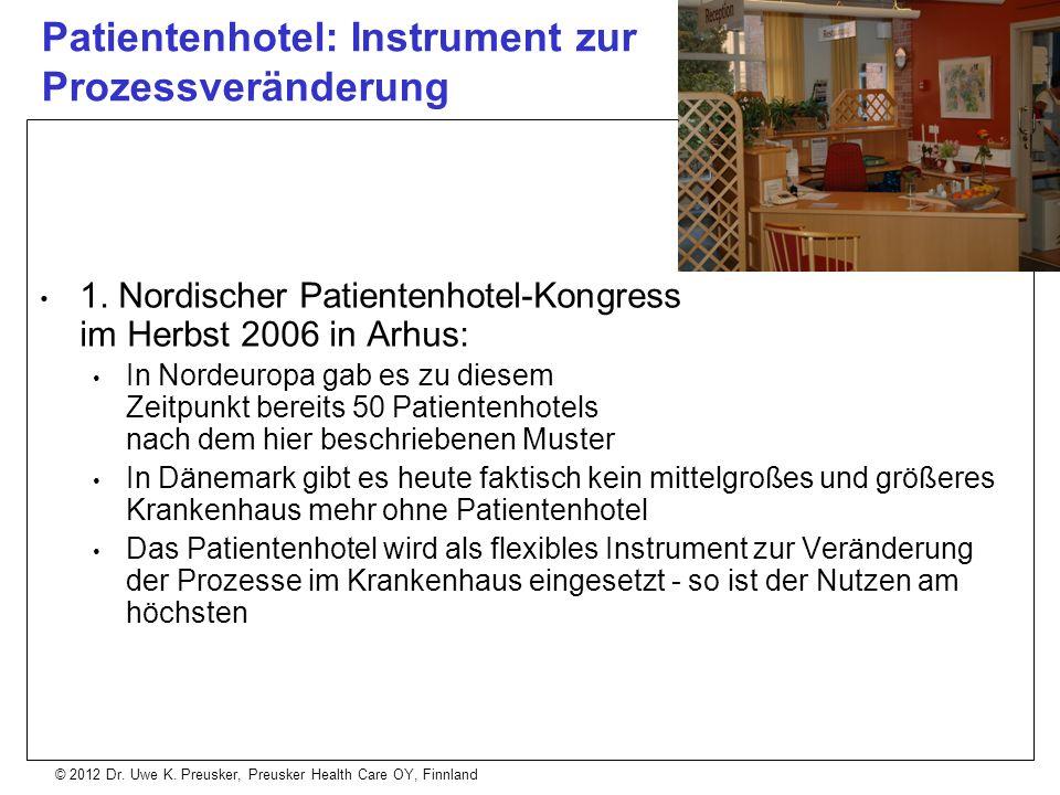 Patientenhotel: Instrument zur Prozessveränderung