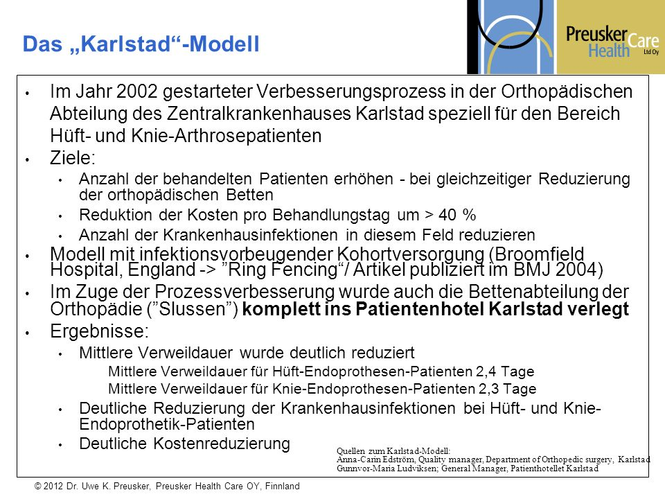 "Das ""Karlstad -Modell"