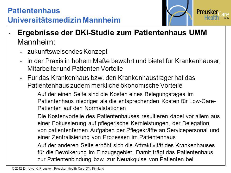 Patientenhaus Universitätsmedizin Mannheim
