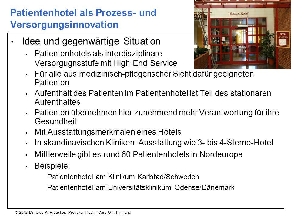 Patientenhotel als Prozess- und Versorgungsinnovation