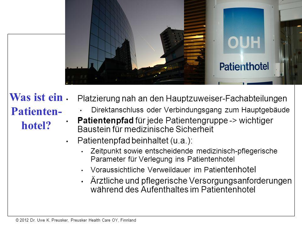 Was ist ein Patienten-hotel