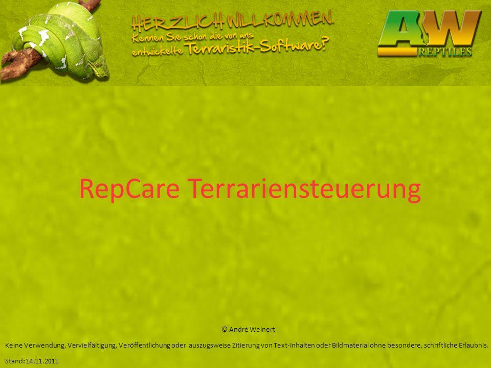 RepCare Terrariensteuerung