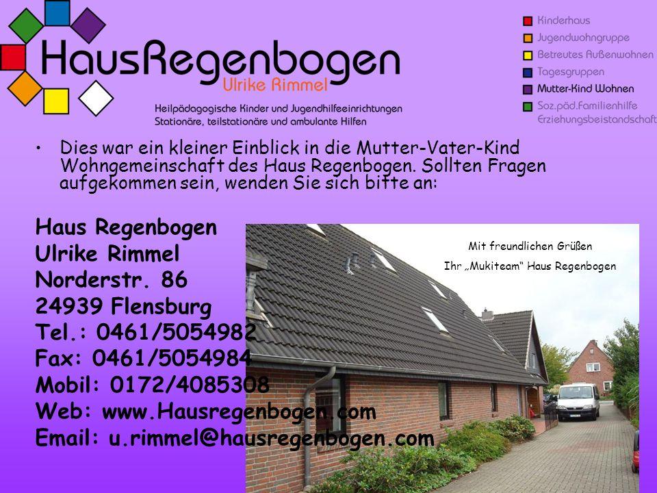 Email: u.rimmel@hausregenbogen.com