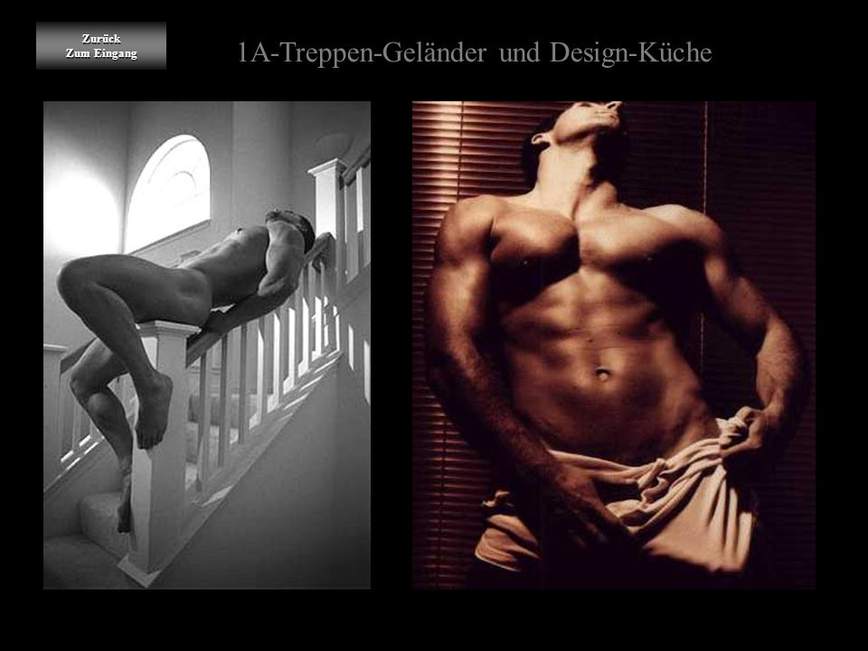 1A-Treppen-Geländer und Design-Küche