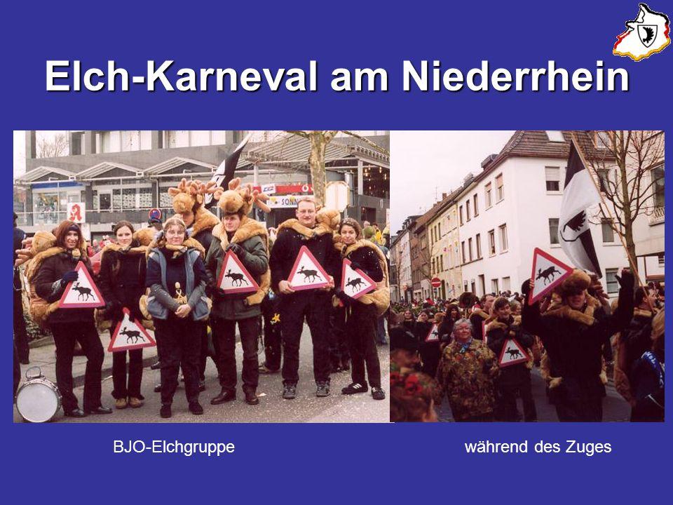 Elch-Karneval am Niederrhein