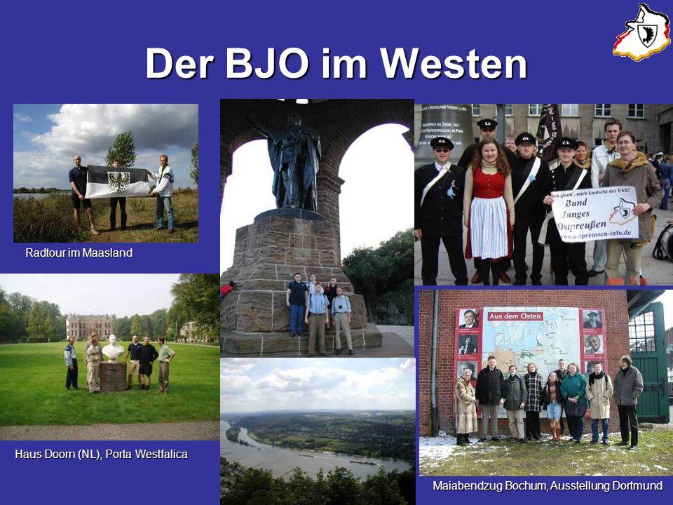 Der BJO im Westen Radtour im Maasland