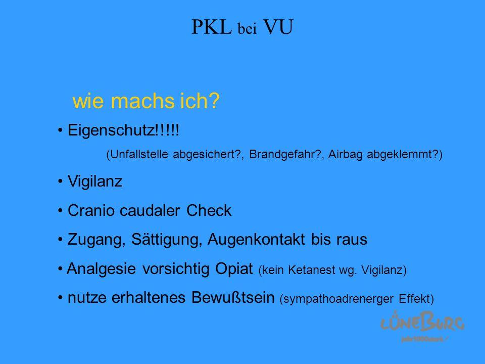 PKL bei VU wie machs ich Eigenschutz!!!!! Vigilanz