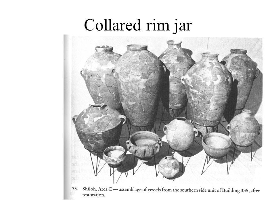 Collared rim jar