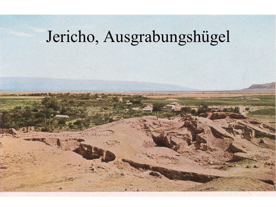 Jericho, Ausgrabungshügel