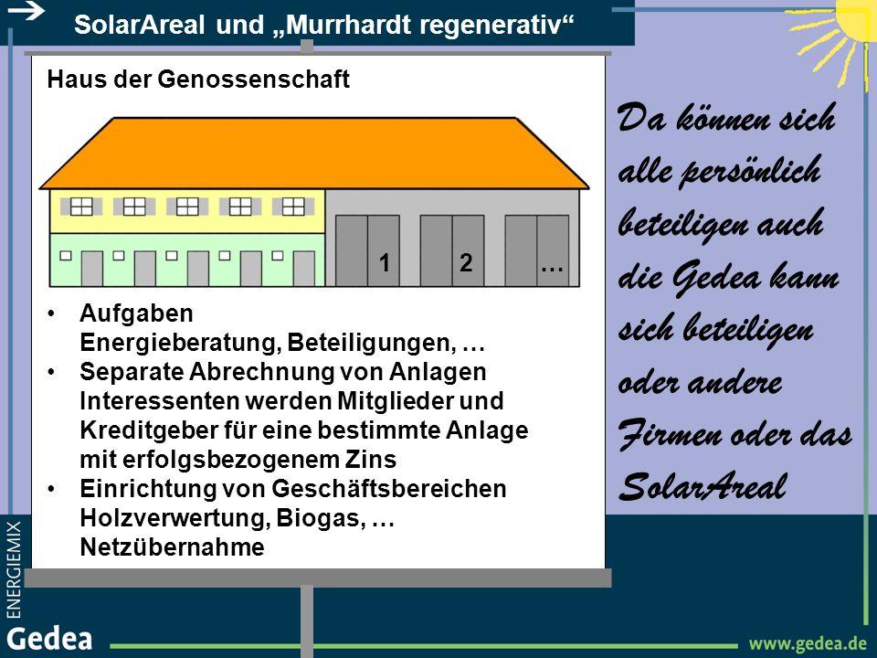 """SolarAreal und """"Murrhardt regenerativ"""