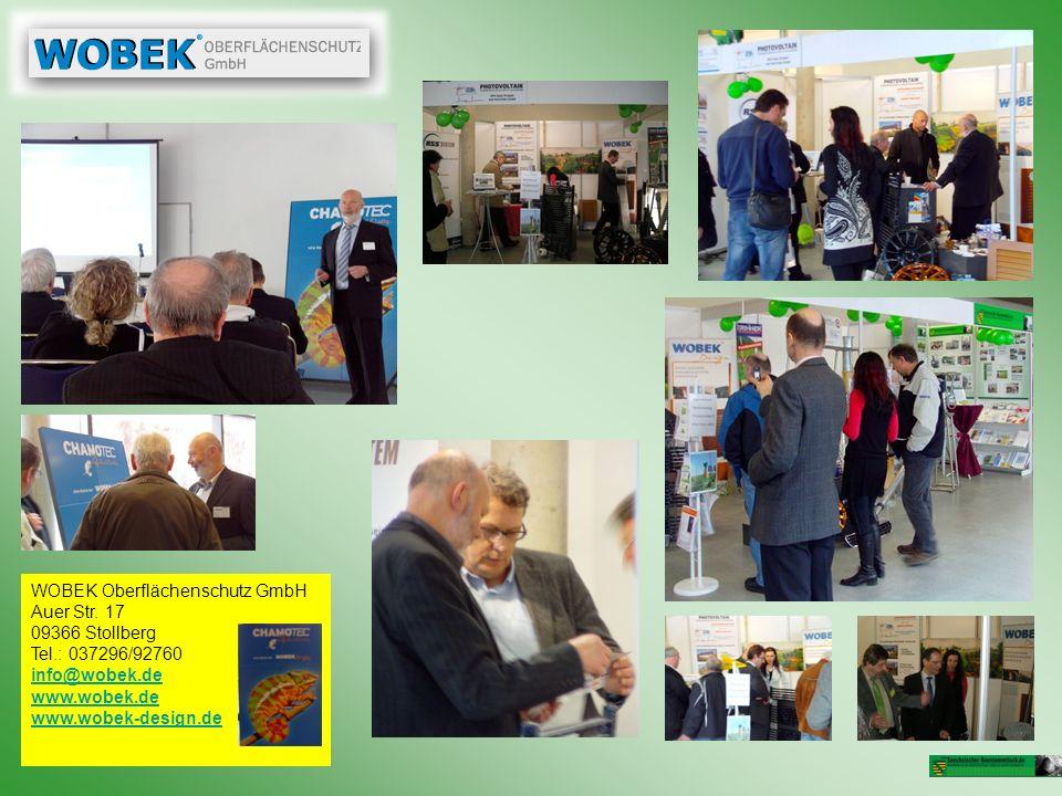 WOBEK Oberflächenschutz GmbH Auer Str. 17 09366 Stollberg Tel