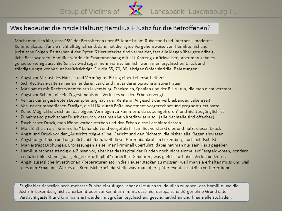 Group of Victims of Landsbanki Luxembourg i.L.