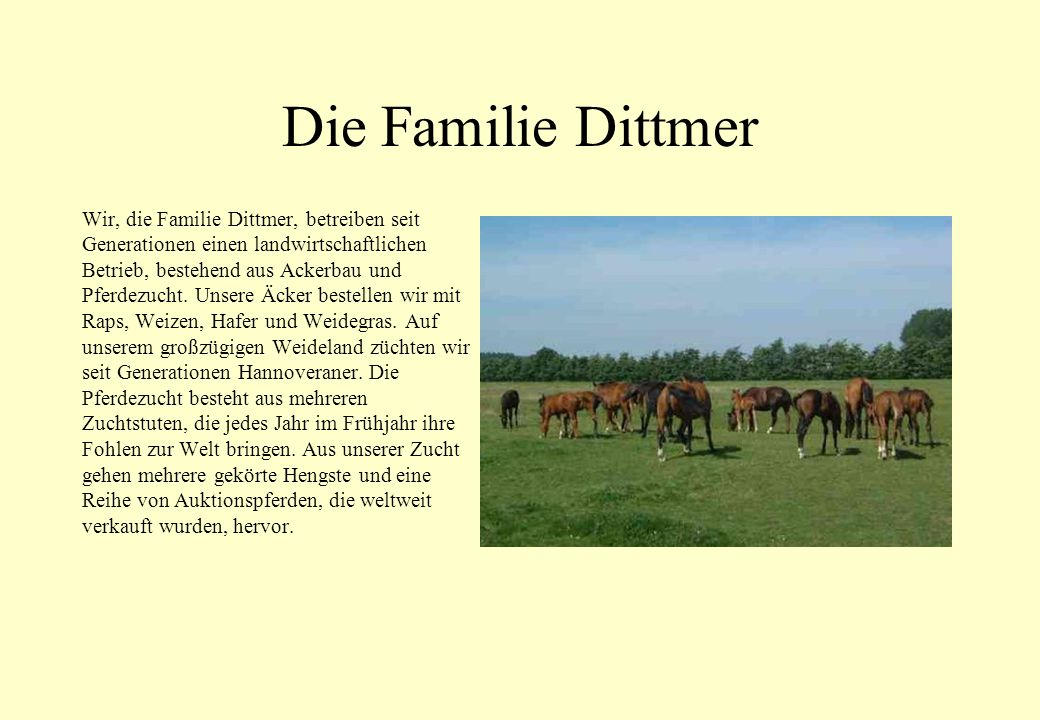 Die Familie Dittmer