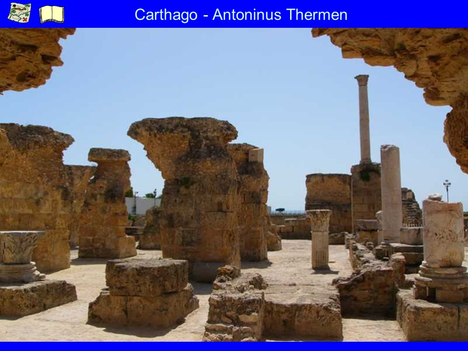 Carthago - Antoninus Thermen