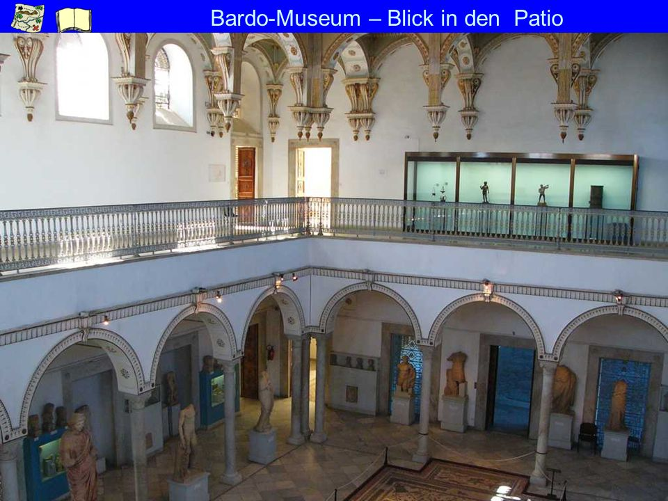 Bardo-Museum – Blick in den Patio